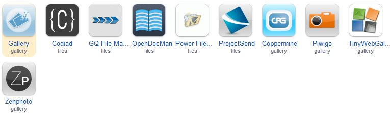 Apps for Photos and Files
