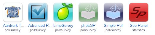 Apps for Surveys and Statistics